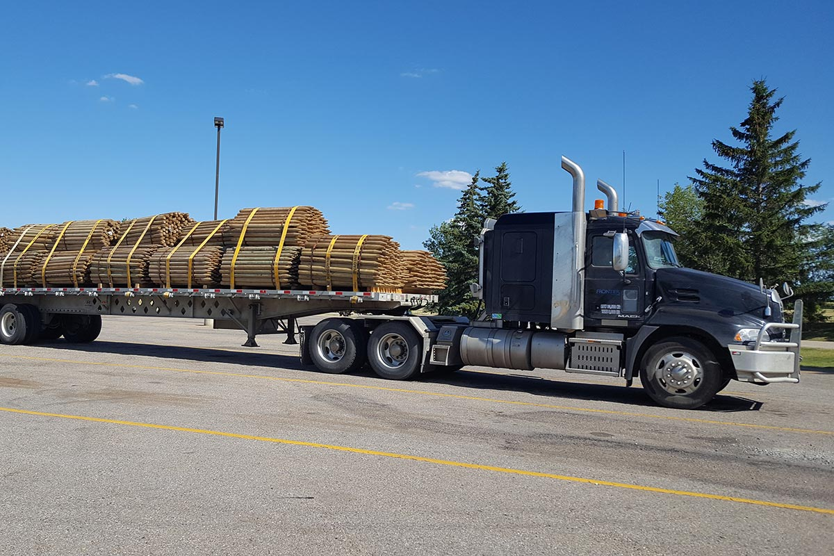 Frontier Transport - Trucking Lumber in Western Canada